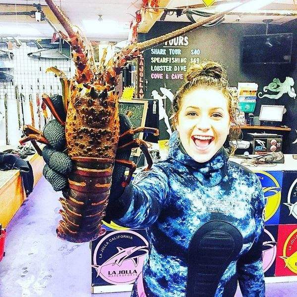 Lobster Diving Voucher With La Jolla Water Sports