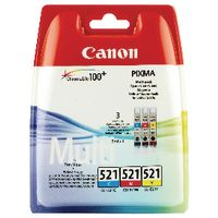 Canon Original CLI-521 CMY Value Pack