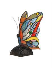 JACY5 10 Inch 1-Light Tiffany Style Accent Lamp, CH30277BM05-NL1