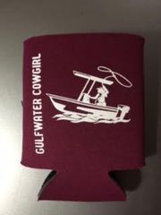 GWC Nation Maroon Cowgirl Collapsible Koozie