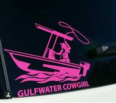 GWC Cowgirl Window Decal