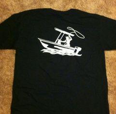GWC Black Cotton Short Sleeve Classic Logo