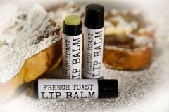 French Toast Organic Lip Balm. Vegan, Cruelty Free .15 oz