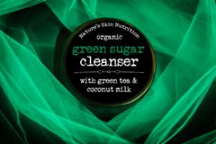 Green Sugar Scrub, 5.5 oz