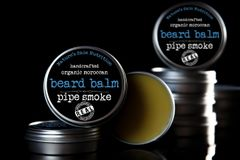 Pipe Smoke Moroccan Beard Balm, 2 oz