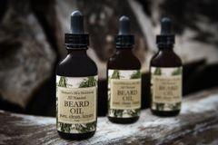 Spiced Mahogany Beard Oil, 1 ounce