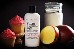 Pink Frosting Goat's Milk and Mango Butter Lotion, 4.75oz