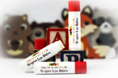 Organic Autism Awareness Kid's Vegan Lip Balm .15 oz