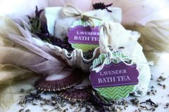 Herbal Bath Tea, Lavender Bedtime Soak