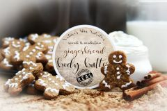 Gingerbread Body Butter, 4 oz Vegan. Organic Ingredients Cruelty Free.