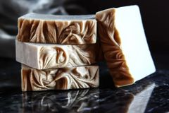 Ground Espresso and Cappuccino Soap Bar