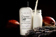 Organic Lavender Shea Butter Vegan Lotion, 4.75 oz