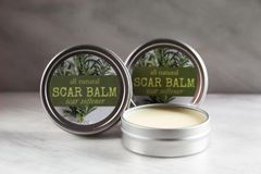 All Natural Scar Balm Softener, 2 oz. Organic Ingredients. Vegan. Cruelty Free.