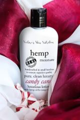 Candy Cane Organic Hemp Body Lotion, 4.75 oz