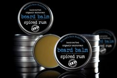 Spiced Rum Moroccan Beard Balm, 2 oz