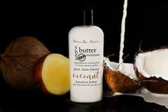 Organic Coconut Shea Butter Vegan Lotion, 4.75 oz
