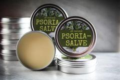 All Natural Herbal Psoria-Salve for Psoriasis, 2 oz