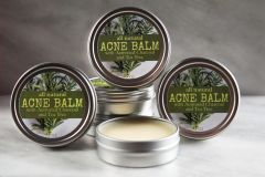 All Natural Acne & Blemish Balm. 2 oz tin. Organic Ingredients. Cruelty Free. Vegan.