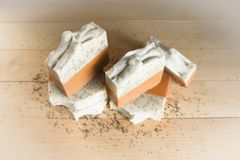Organic Lemon Poppy Seed Soap