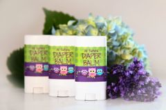 All Natural Diaper Balm, 2 oz Vegan Organic Ingredients. Cruelty Free.