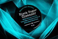 Black Sugar Scrub and Cleanser 5.5 oz.