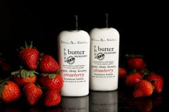 Strawberry Shea Butter Lotion 4.75 oz, Vegan