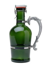 #606 Nostalgic Handle Green Glass