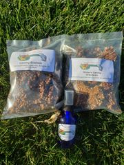 Calming Combo-Crackers or Brittle and Spray, Small 6oz/2oz