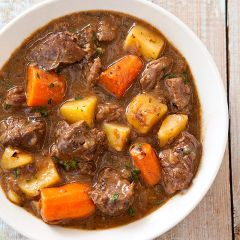 Beef Stew Home Cooked meal