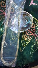 Smudge Kit: Sweetgrass Braid & Abalone Shell + Free Crystal
