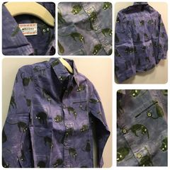 Morley Cat Scare Button Down Size:4