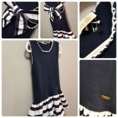 Cesar Blanco Sail Away Dress Size:4