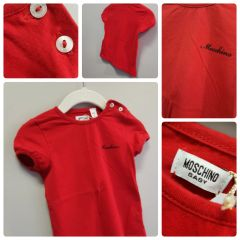 Moschino Red Hot T-Shirt Size:12-18M