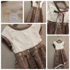 Jacadi Sweet Button Dress Size:2