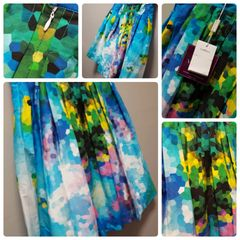 Val Max Honeycomb Color Skirt Size:10
