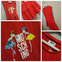 Moschino Kids TalkUP Dress Size:6