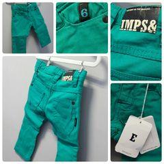 Imps & Elfs Green Pants Size:6-9M