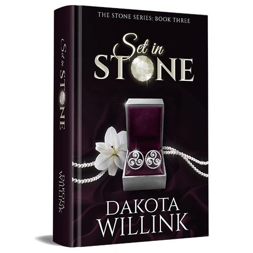 Set In Stone, 1st Edition Author Signed Paperback