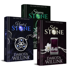 The Stone Series, Signed 3-Book Set