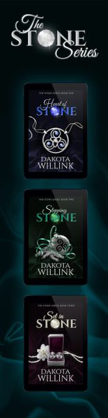 The Stone Series 2x8 Bookmark