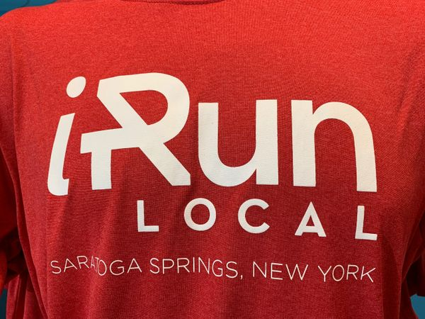 iRun LOCAL T Shirts - RED