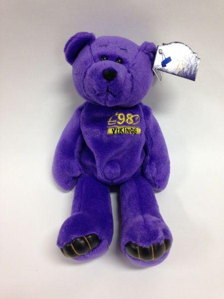 NFL Football - RANDY MOSS - MINNESOTA VIKINGS - Limited Treasures Premium  Pro Bear Mini Bean Bag  e021f70e303