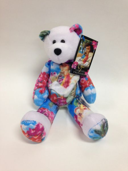 ELVIS PRESLEY Limited Edition  ALOHA FROM HAWAII  Gallery Treasures Mini  Beanie Bear  640dd734add