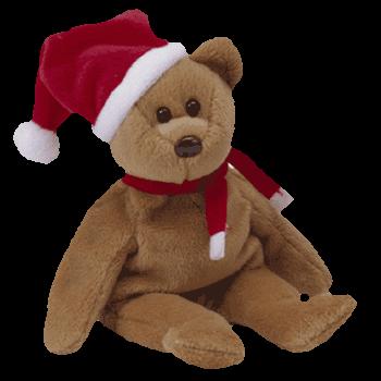 1997 HOLIDAY BEAR  CHRISTMAS  Beanie Baby - Ty  189c45fc2ed