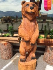 Toste Hand Carved Bear