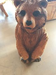 "Sitting Bear 42""x21"""