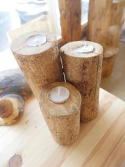 Trio Tealight Candle Holder