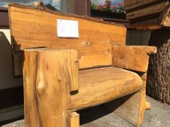 Cedar Wood Short Bench