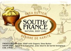 French Milled Oval Bar Soap with Organic Shea Butter (6 oz) by South of France $4.25