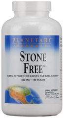 """Stone Free"" Kidney and Gallbladder Support 820 mg (180 Tablets) by Plantary Herbals $20.99"